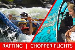 Half Day Sports Rafting & Chopper Flight PACKAGE