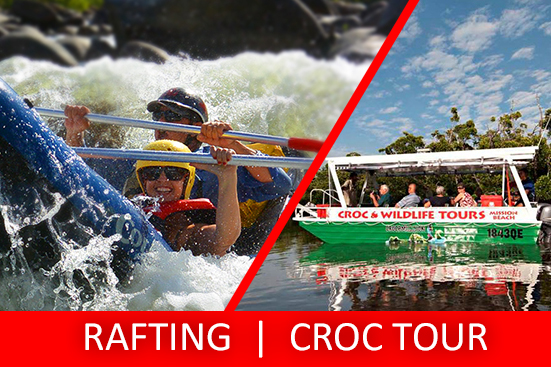 Full Day Sports Rafting & Croc Tour PACKAGE