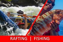 Half Day Sports Rafting & Fishing Charter PACKAGE