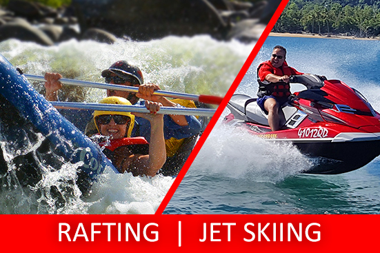 Half Day Sports Rafting & Jet Skiing Tour PACKAGE