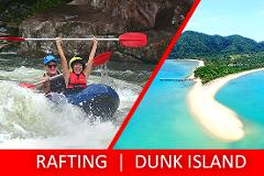 Half Day Sports Rafting & Half Day Dunk Island