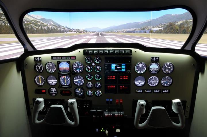 Beechcraft Baron Simulator Flight (30min) - Kirkhope