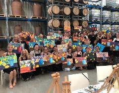 Tulloch Wines HVWFF Still Life Paint & Sip Workshop