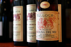 Tulloch Wines - Vertical Tasting of Pokolbin Dry Red Shiraz over 6 Vintages with Charcuterie board