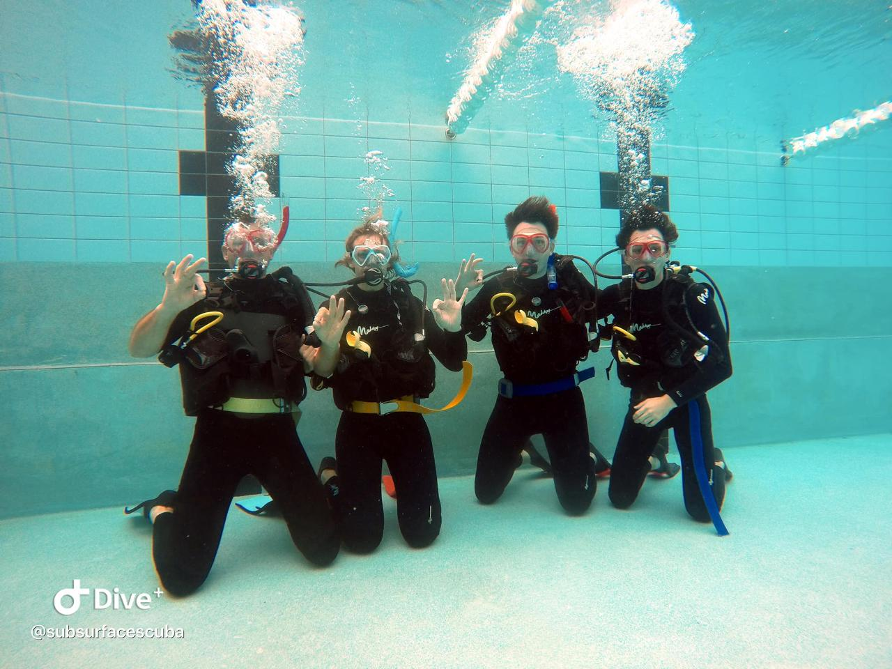 Open Water Scuba Diver Course With PADI Instructor