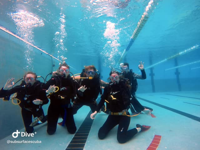 Pool Session – Introductory Dive and Refresher Course