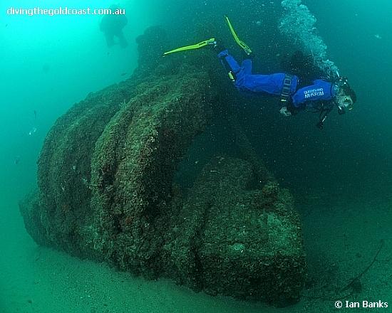 Scuba Diving Tangalooma Wrecks