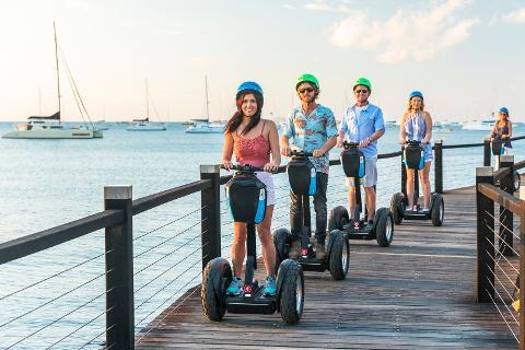 Morning Segway Boardwalk Tour (includes morning tea)