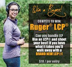 Win a Ruger LCP