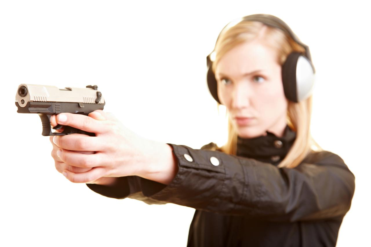 Introduction to Pistol Shooting (Women's Only) - 202 - Rice Lake