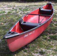 15'' Canoe - Seats for 2 Adults Inside - Classic Red