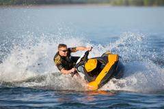 Jet Ski On Trailer - Two Seater - High Power, High Tech - Reverse & Brakes