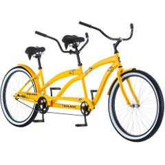 Adult Cruiser Tandem Bike, M/F - 26""