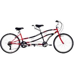 Adult Multi-Speed Tandem Bike, M/F - 26""