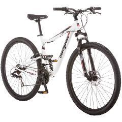 "Adult Multi-Speed Mountain Bike, M/F Full Suspension - 29"""