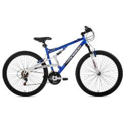 Adult Multi-Speed Mountain Bike, M/F Full Suspension - 29""