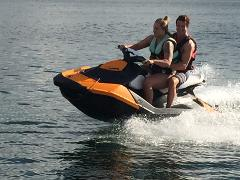 Jet Ski On Trailer - Two Seater - High Power, High Tech - Reverse & Brakes