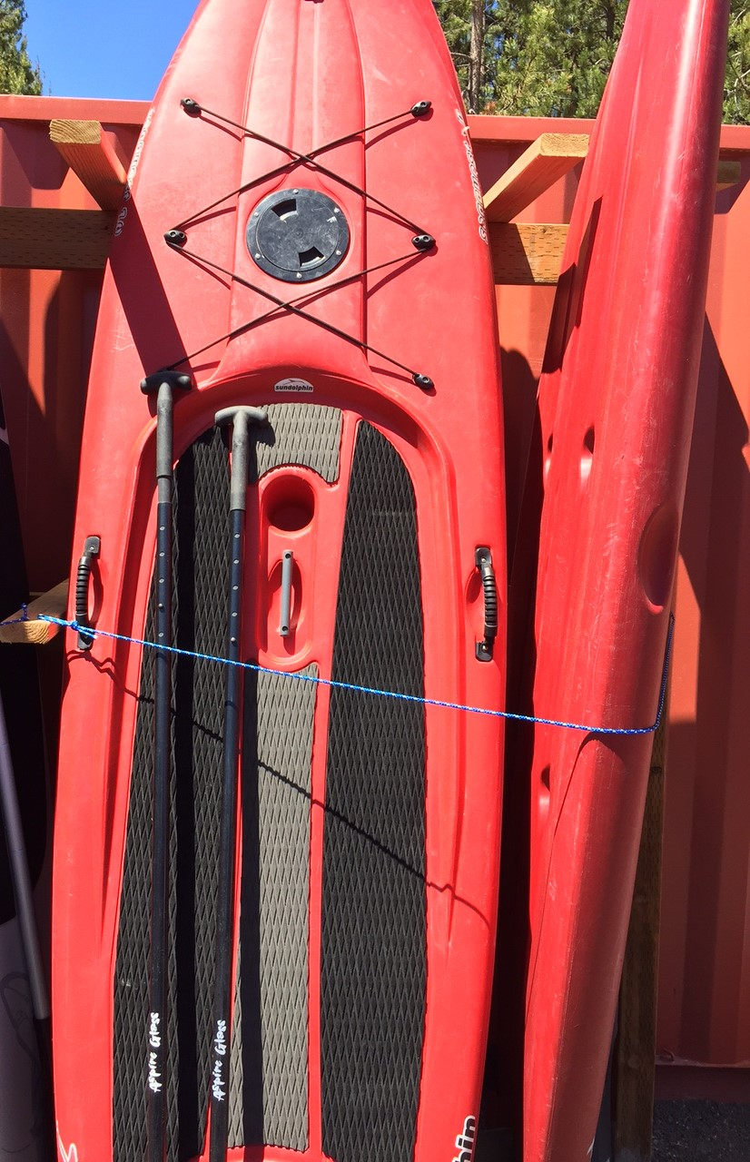10' Solid PVC Stand Up Paddle Board - For Adults and Kids less than 199 Pounds