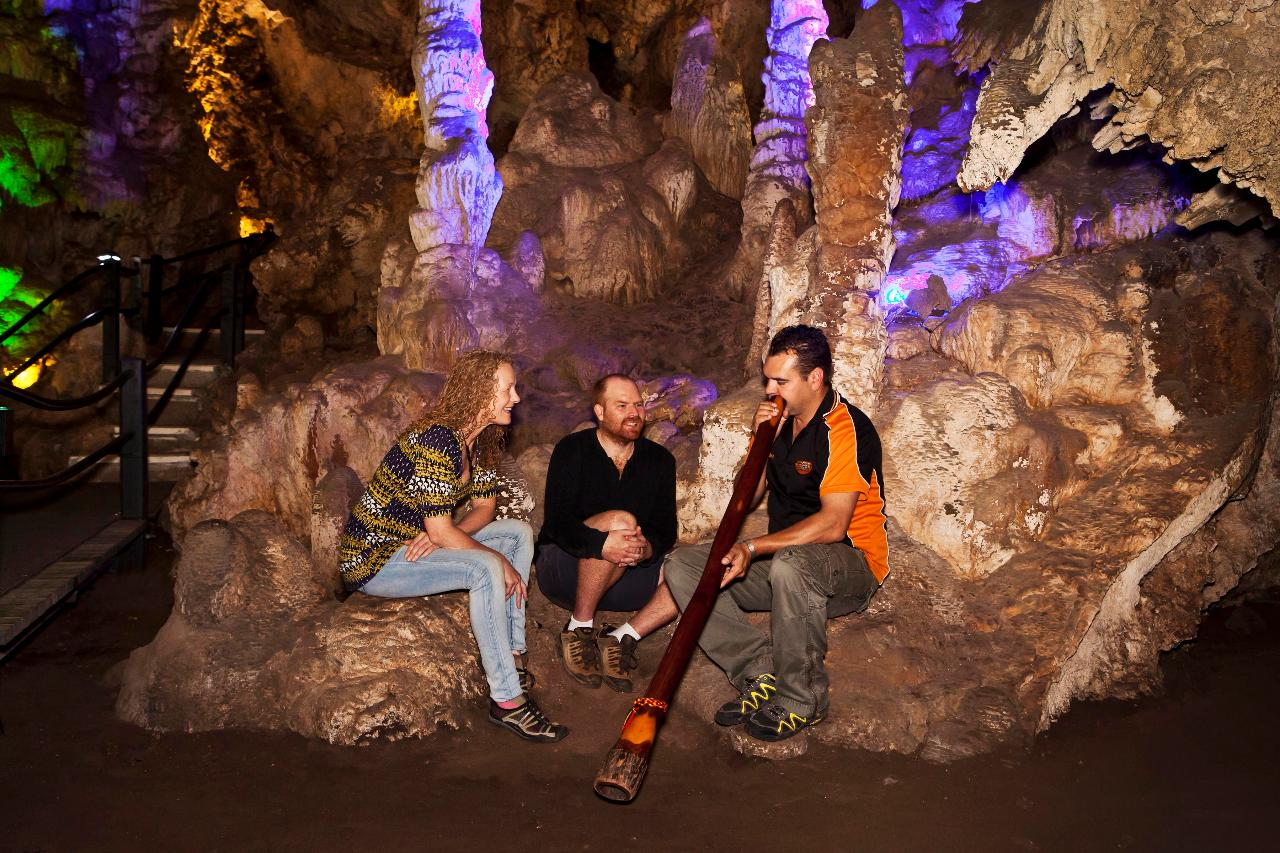 Twilight Didgeridoo Cave Tour
