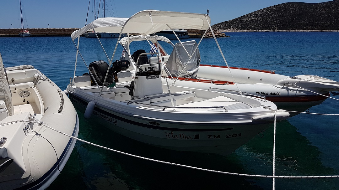 """A La Mer 1"" - Full Day Boat Rental"