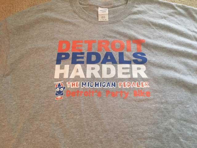 Detroit Pedals Hard T-Shirt