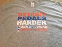 Detroit Pedals Hard T-Shirt