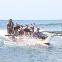 Canoe Surfing