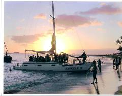Sunset Catamaran Charter