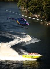 Heli Jet Boating Thrill