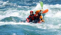 3 Hour Tandem Whitewater Rafting