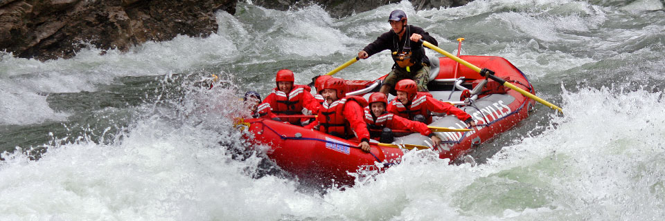 Half-Day White Water Rafting