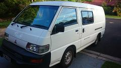 Mitsu - Mitsubishi Express - Budget Surf Van/Traveller