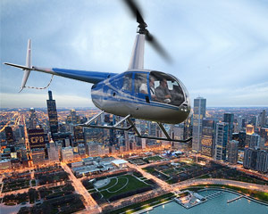 Extended Private Helicopter Tour of Downtown Chicago