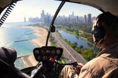 Private Helicopter Tour of Downtown Chicago