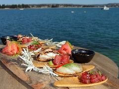 Island Discovery Package -  Aquarium Swim & Seafood Tasting Platter