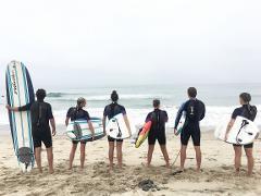 Guided Paddle Boarding in Malibu