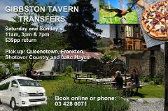 Gibbston Tavern Transfers