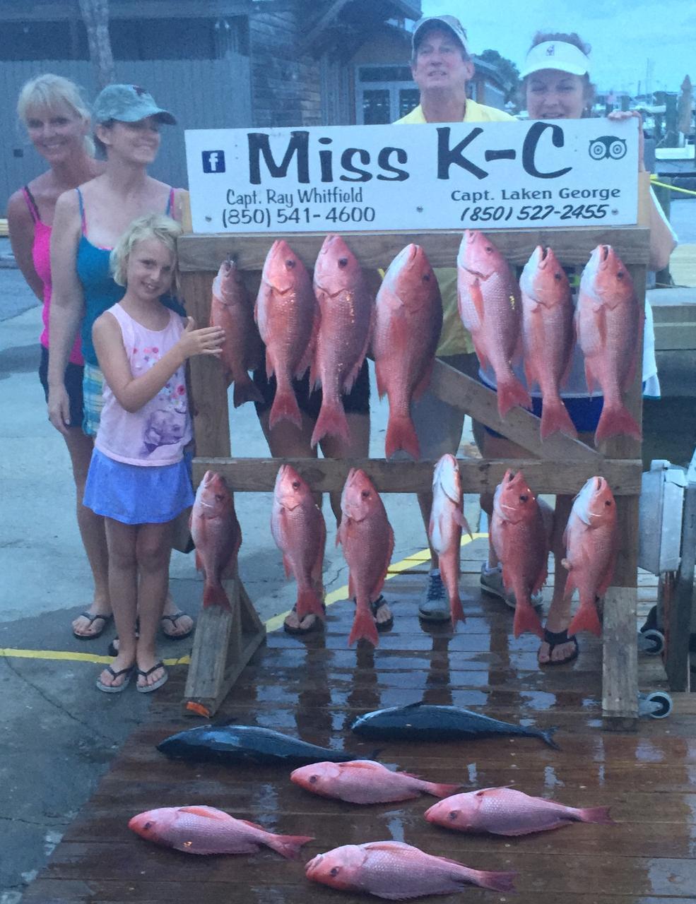 6 Hour Bottom Fishing   Miss K-C