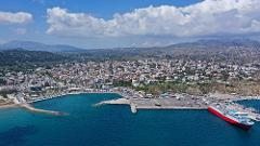 From central Rafina or Rafina port to Athens international airport, with TAXI or MINIVAN