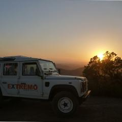 Algarve Jeep Sunset