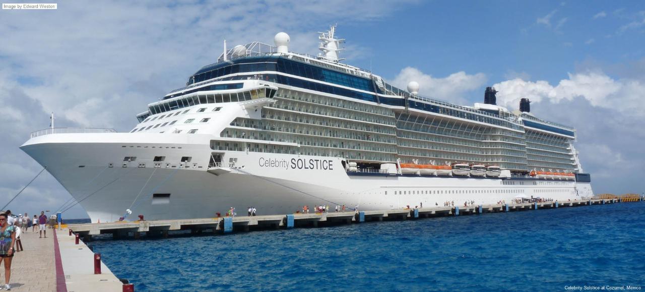2017: Cruise Ship Celebrity Solstice - Nov 21-22