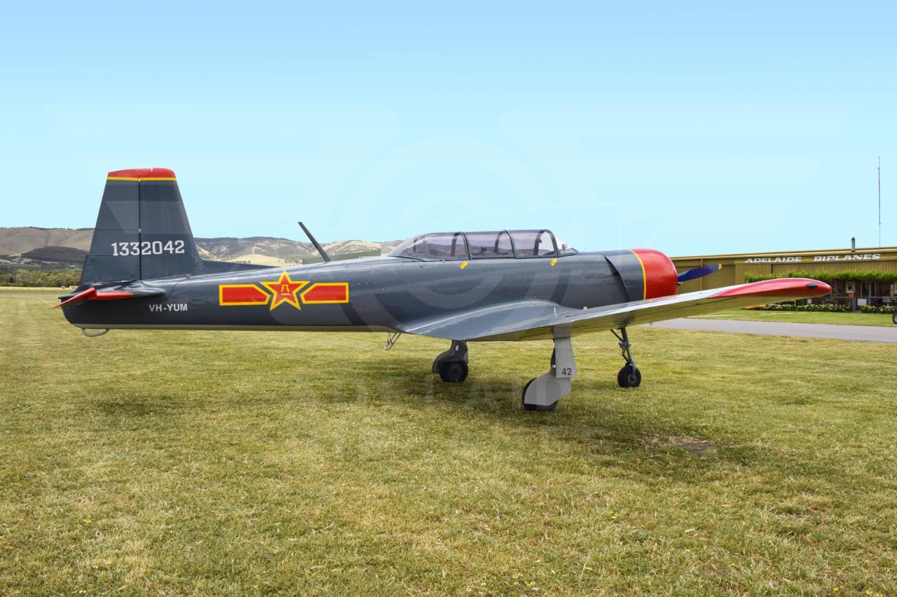 Nanchang Warbird Scenic Flight Gift Voucher