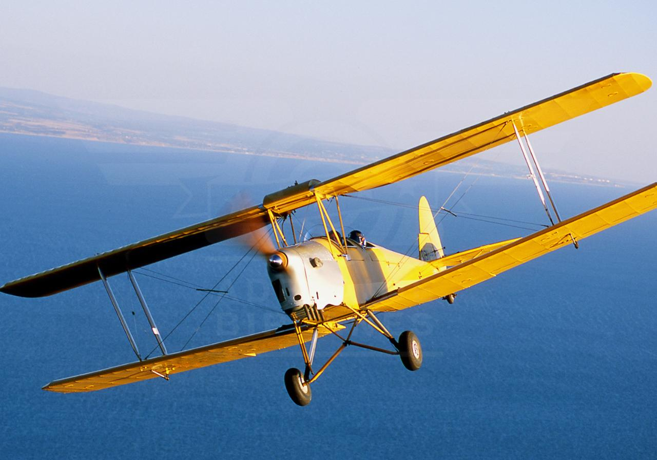 Tiger Moth Scenic Flight Gift Voucher
