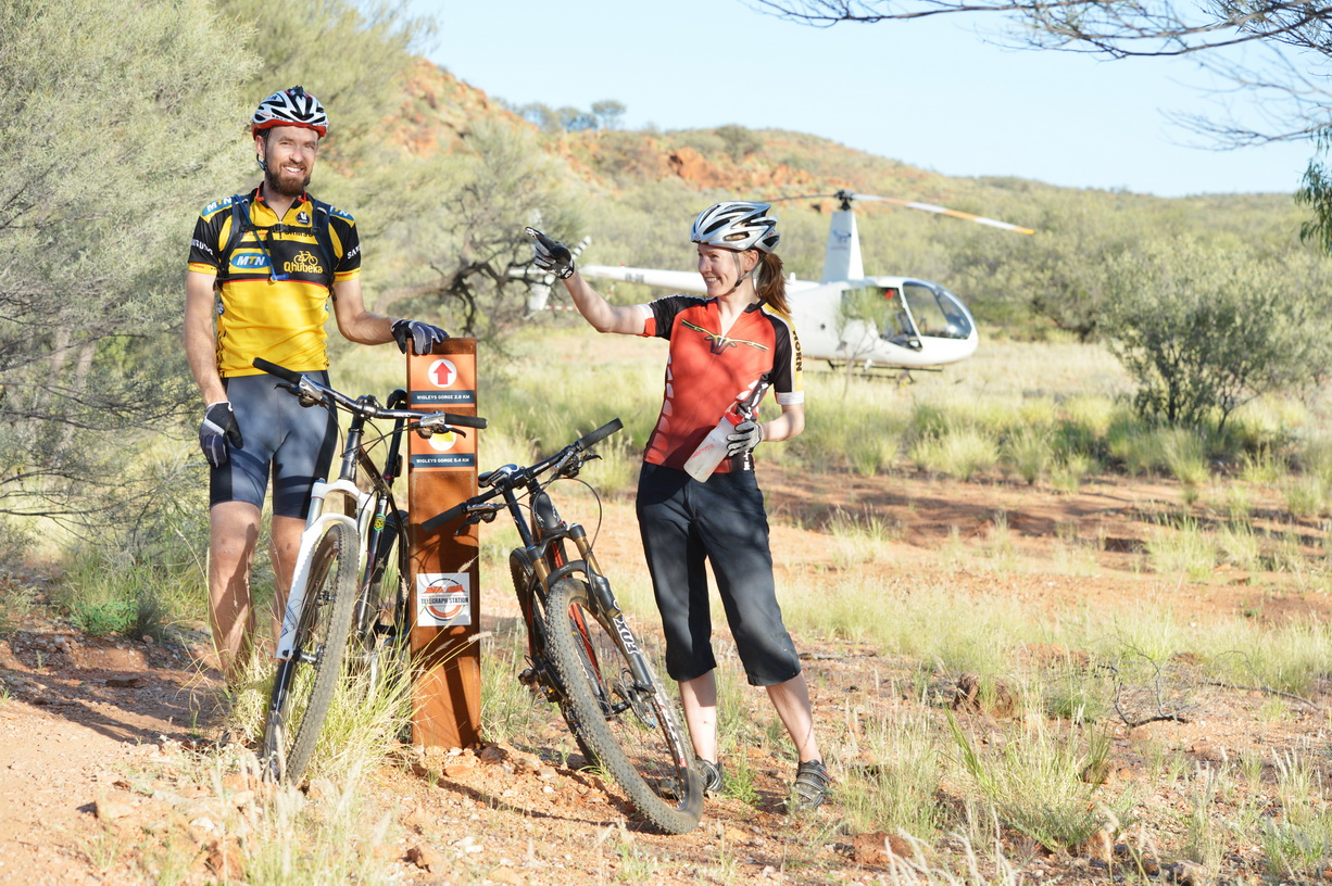 Heli-Mountain Biking Transfers
