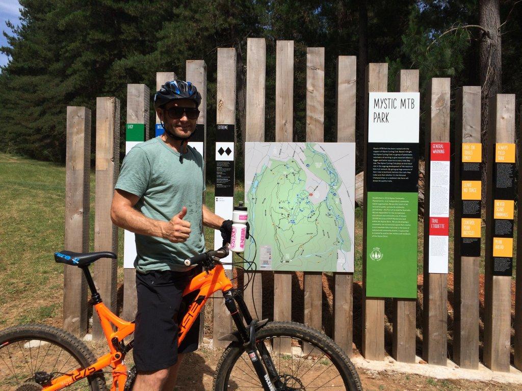 Gravity Junkie Mountain Bike Guided Ride - Mystic Bike Park