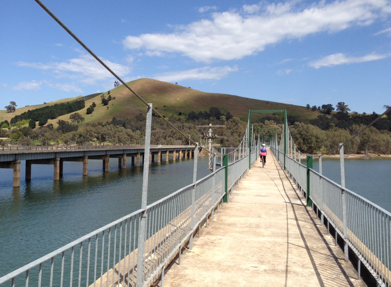 Rail Trail Transfer Tallarook to Mansfield