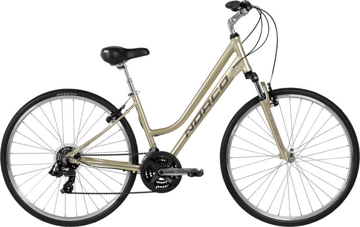 BRIGHT | Rail Trail Hybrid Bike - Large