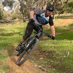 Berms and turns skills clinic