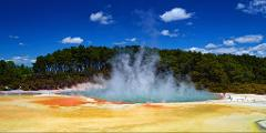 Rotorua Day Tour: Wai-O-Tapu  & The Living Maori Village Small Group Tour