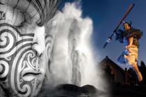 Rotorua Day Tour: Wai-O-Tapu  & Te Puia : Geysers : Kiwi Bird : Champagne lake Small Group Tour